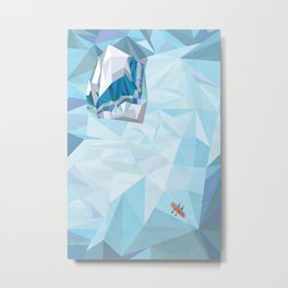Antarctica I Metal Print