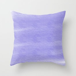Chalky background - lilac Throw Pillow