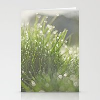 grass Stationery Cards featuring Grass by Pure Nature Photos
