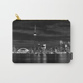Toronto Skyline, Monocrome Carry-All Pouch