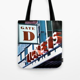Fenway Gate D Tickets Tote Bag