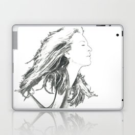 "Meryl Streep Drawing: ""Guardian Of The Press"" (2017) Laptop & iPad Skin"
