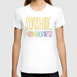Sunshine & Rainbowfarts T-shirt