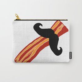 Bacon Stache Carry-All Pouch