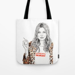 KATE MOSS X SUPREME Tote Bag
