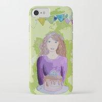 happy birthday iPhone & iPod Cases featuring Happy birthday! by Oh Lapislazuli