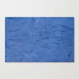 Light Blue Stucco Canvas Print
