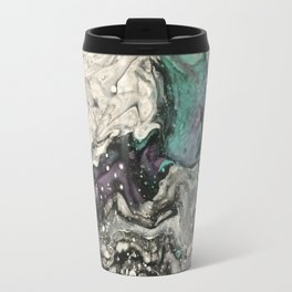 Fluid Butterfly Marble Travel Mug