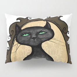 Familiar in Frame Pillow Sham