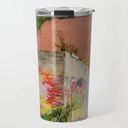 Eiffel Tower Grafitti Travel Mug