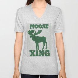 Moose Xing Unisex V-Neck