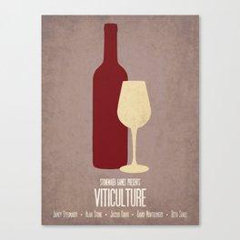 Viticulture - Minimalist Board Games 03 Canvas Print
