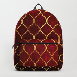 Moroccan Tile islamic pattern #society6 #decor #buyart #artprint Backpack