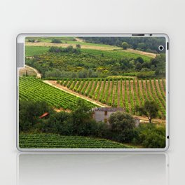 landscape in southern france 2 Laptop & iPad Skin