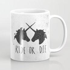 Ride or Die x Unicorns Mug