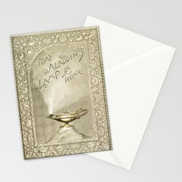 Christmas and birthday cards with poems from Aladdins Lamp by Joaquin Millers poem Stationery Cards