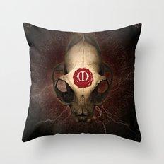 Poster Maldoror Throw Pillow