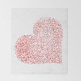Heart (9) Throw Blanket