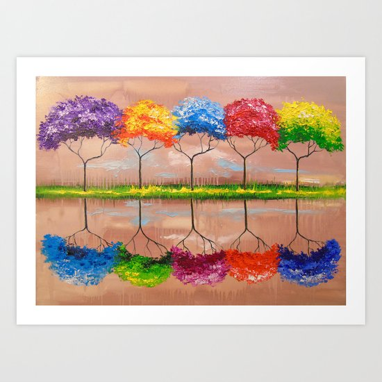 Every tree by its smell Art Print