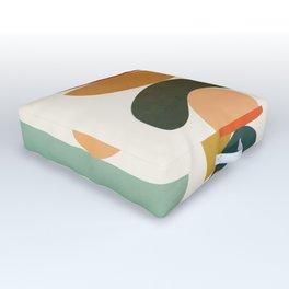 Modern Abstract Art 72 Outdoor Floor Cushion
