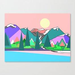 Wanderlust 2 Canvas Print