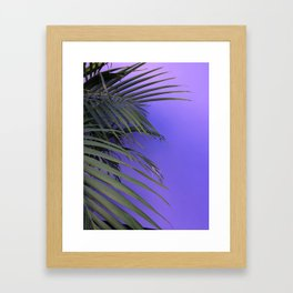 Indigo Nature Framed Art Print