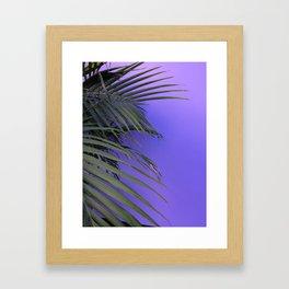 Indigo Nature Framed Art Print