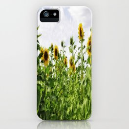 Rigby Idaho - Reaching For The Sun iPhone Case