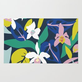 Orchid Jungle Rug