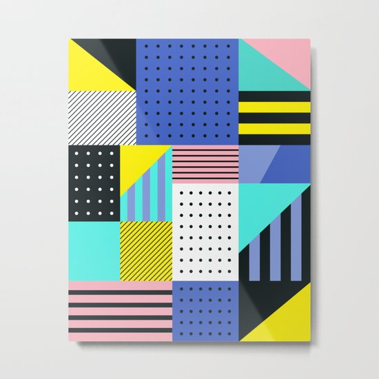 Patchwork Two Metal Print