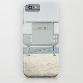Path to the Lifeguard Stand iPhone Case