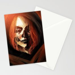 Ghost from the Past Stationery Cards