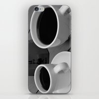 coffe iPhone & iPod Skins featuring Coffe for two by Camaracraft