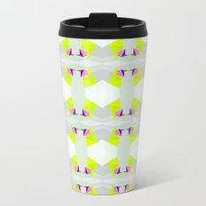 Polygon Neon Metal Travel Mug