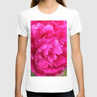 peony T-shirts featuring Peony by Stecker Photographie