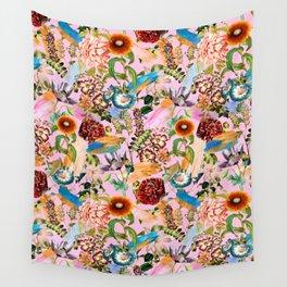SUMMER BOTANICAL IX Wall Tapestry
