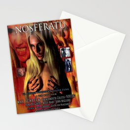 Nosferatu vs. Father Pipecock & Sister Funk (2014) -Movie Poster Stationery Cards