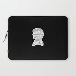 Sherlock Holmes - BBC tv show sherlock - black Laptop Sleeve