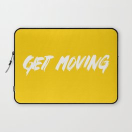 Get Moving! Laptop Sleeve