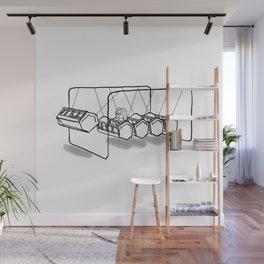 Newton's cradle Wall Mural