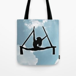 Aerialist in the Sky Tote Bag