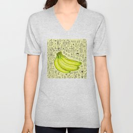 Bananas. Unisex V-Neck