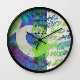 Tropical Blend Wall Clock