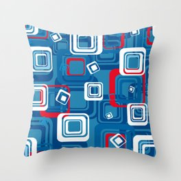 Shapes #01 Throw Pillow