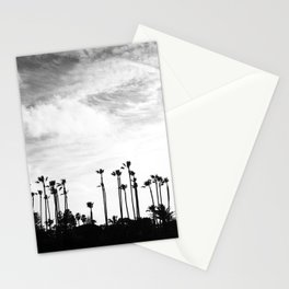 Palm Trees Standing Tall Stationery Cards
