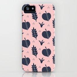 Botanical Pattern iPhone Case