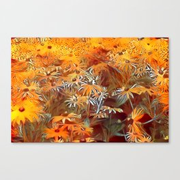 Atomic  Field Canvas Print