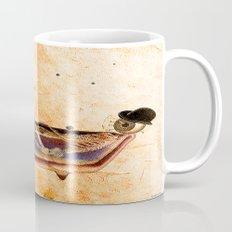 Monsieur Bone in the bathroom Mug