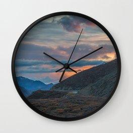 Polychrome Pass Denali National Park Mt McKinley Mt Denali Wall Clock