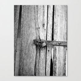 Locking the Past Canvas Print